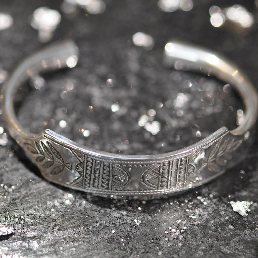 Bracelet  Silver Leaf Homme - Mad Lords - Bracelets pour homme - Mad Lords