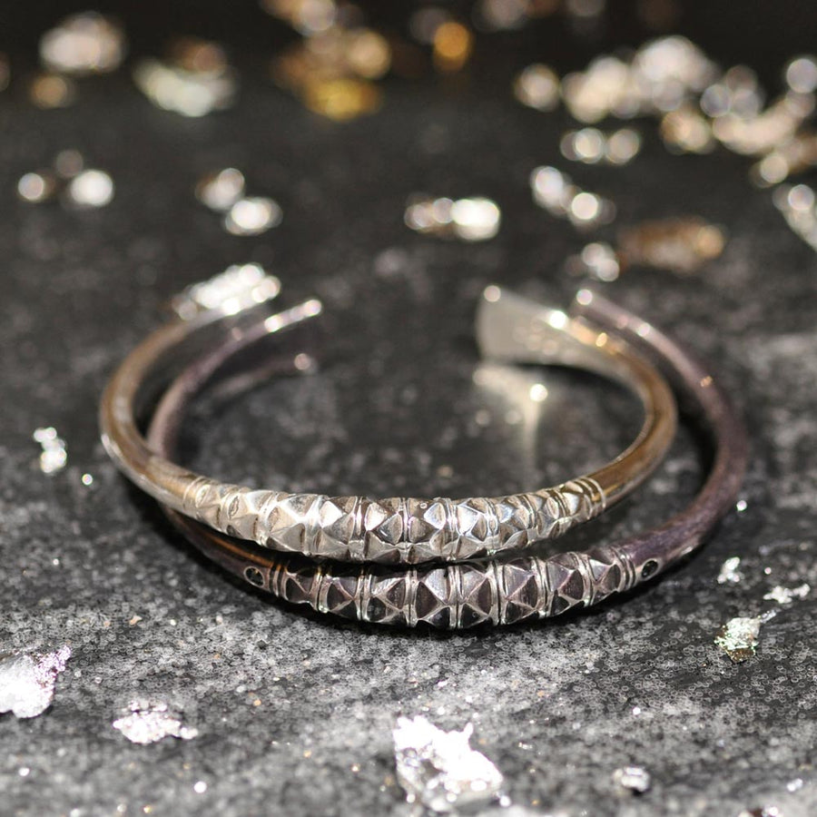 Bracelet Des Sables Incruste De Diamants Blancs - Mad Lords - Bracelets pour homme - Mad Lords