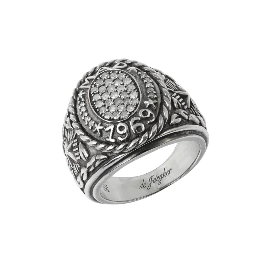Bague Mad 1969 Diamants Blancs - Bagues pour femme - Vanessa de Jaegher - Mad Lords