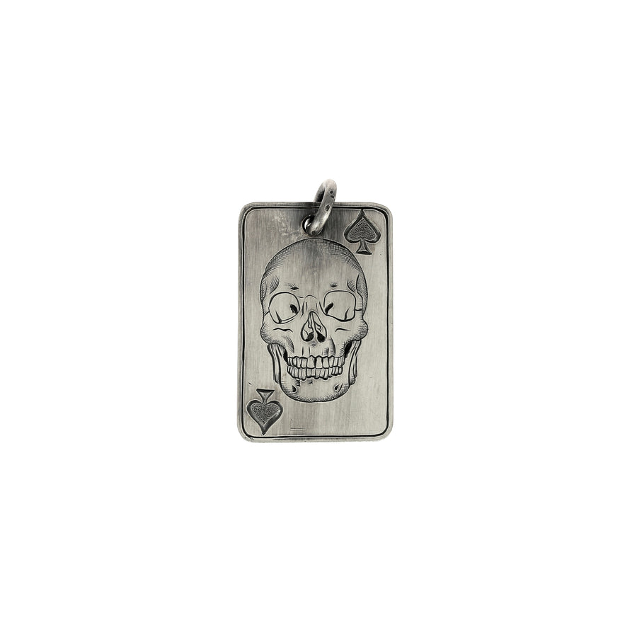 Pendentif Playing Card Ace of Spade