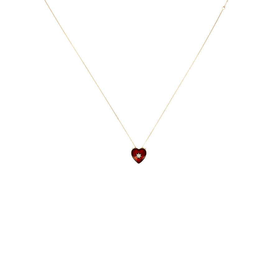 Collier Queen of hearts
