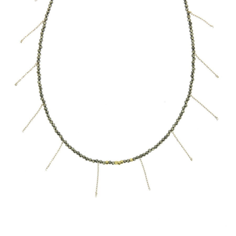 Collier Franges Pyrites