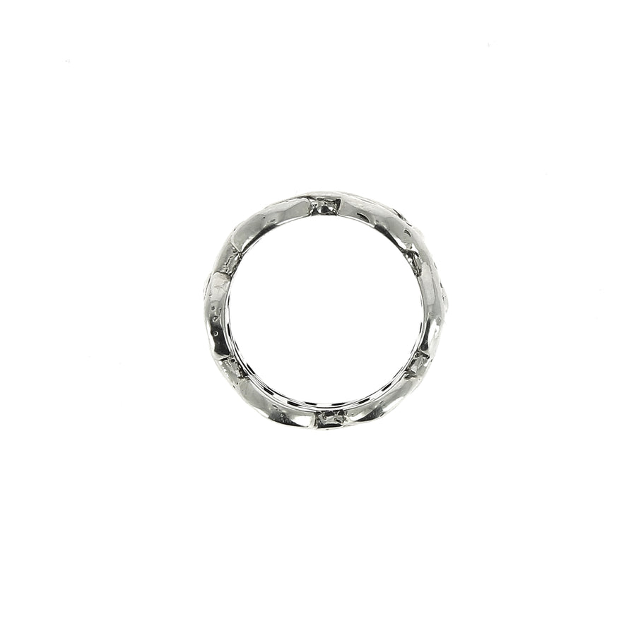 Bague Sacred Melted Double Classic Tri Link