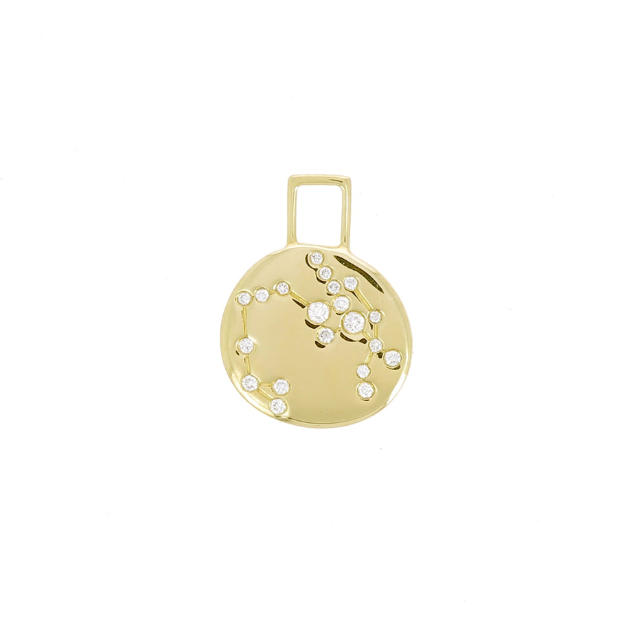 Charm Constellation Sagittaire Serti de Diamants