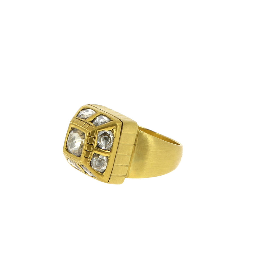 Bague Diamants English Polki