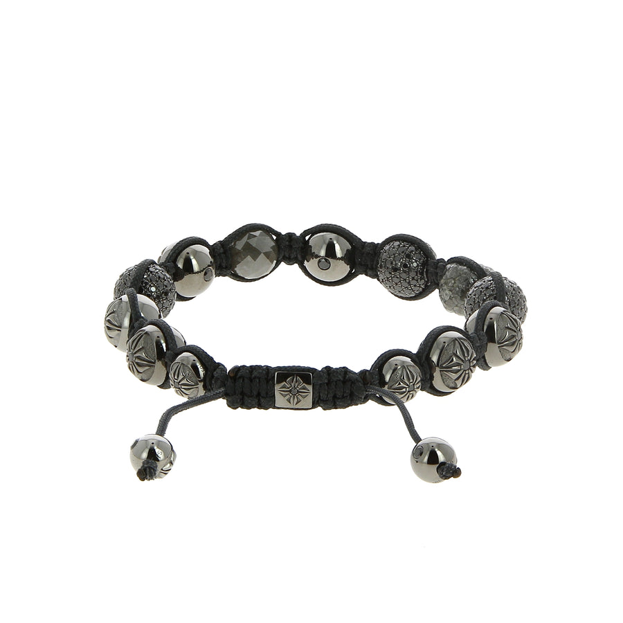 Bracelet raw diamond - Shamballa Jewels - Bracelets pour homme - Mad Lords