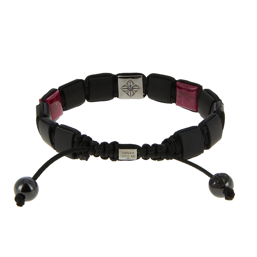 Bracelet Lock Red & Black