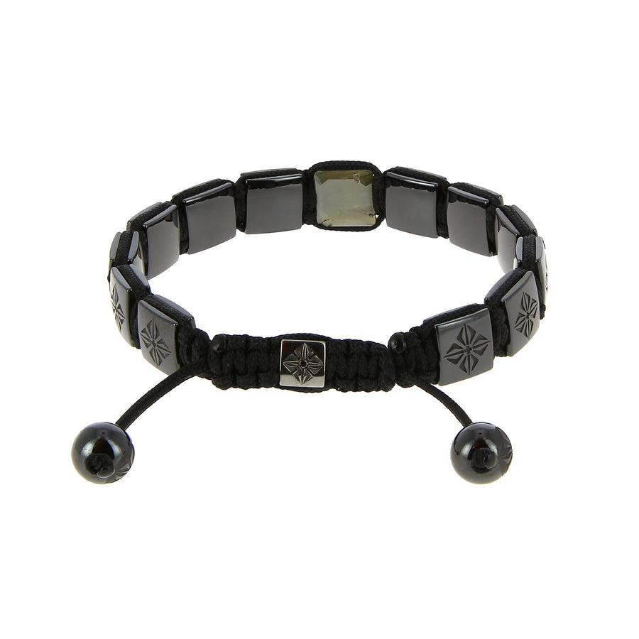Bracelet Lock Black Gold