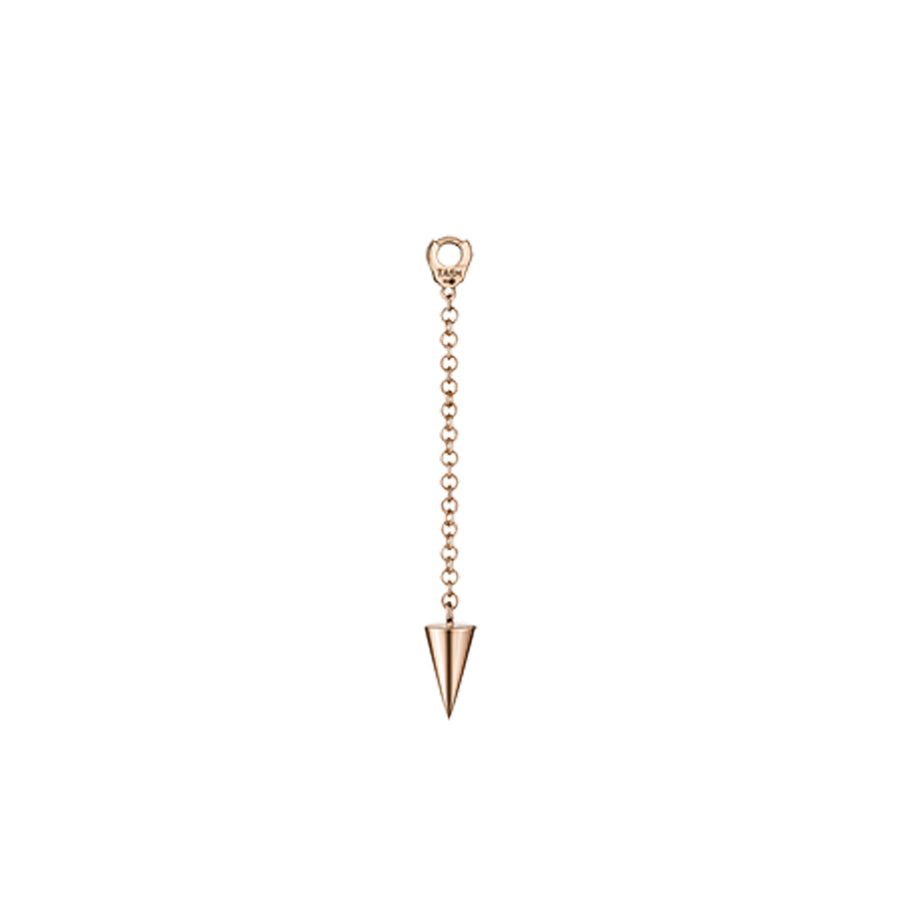 Charm Short Pendulum with Short Spike Or Rose