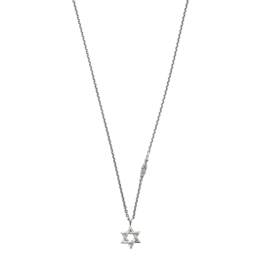 Small Secret Triangle Star DIamants Blancs