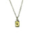 Collier Small Tag Or et Rubis