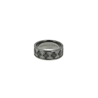 Bague Sos Ring Diamants Noirs