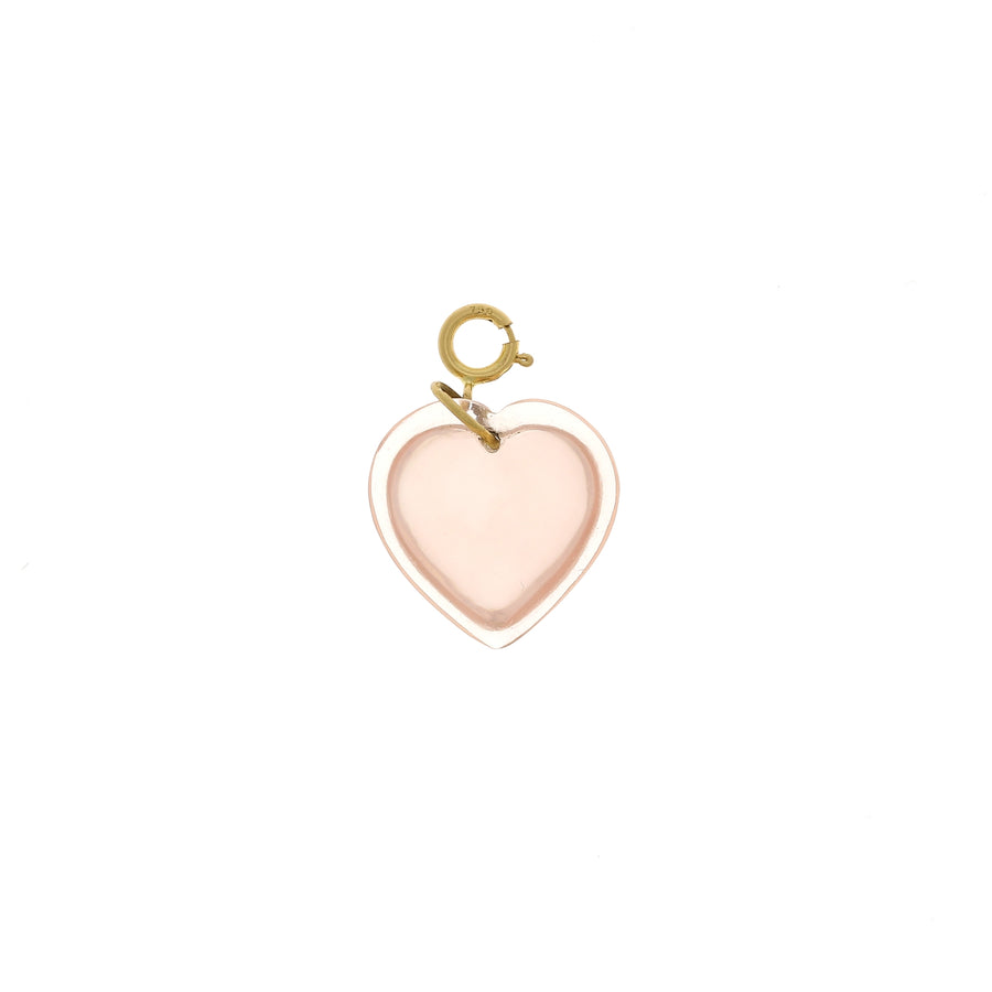 Pendentif Coeur quartz rose Ten Thousands Things