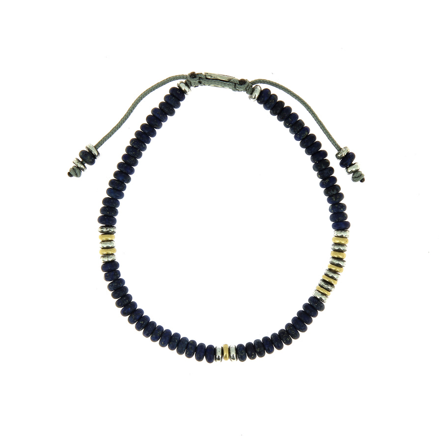 The Cipher Bracelet Lapis Beads