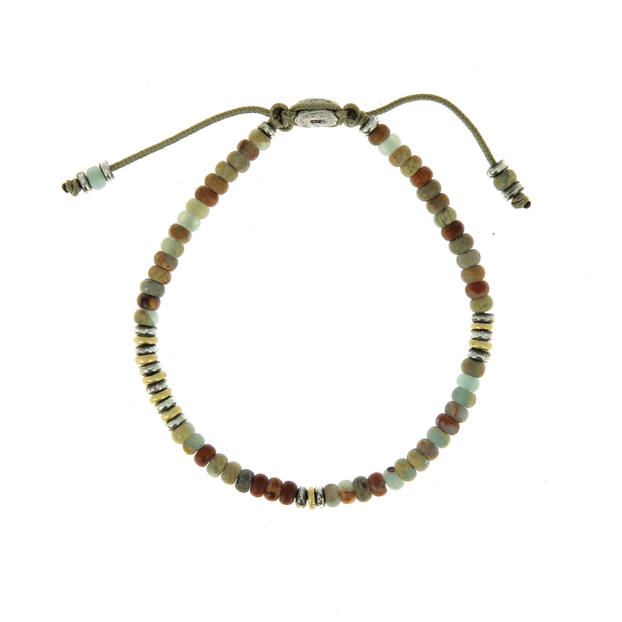 The Cipher Bracelet Opal Beads