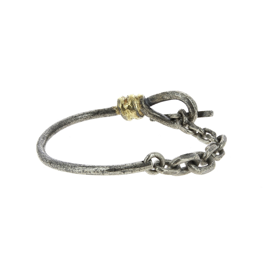 Bracelet wire chained
