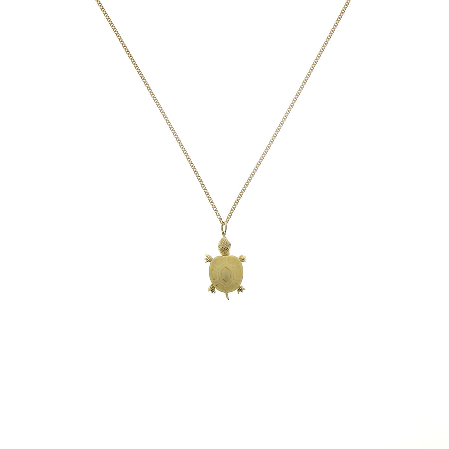 Charm tortue os