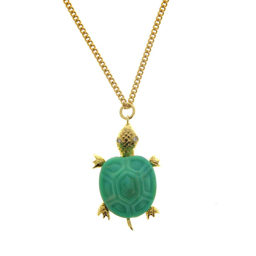 Charm Tortue Turquoise