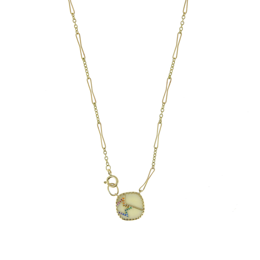 Collier Varda n°2 White Rainbow