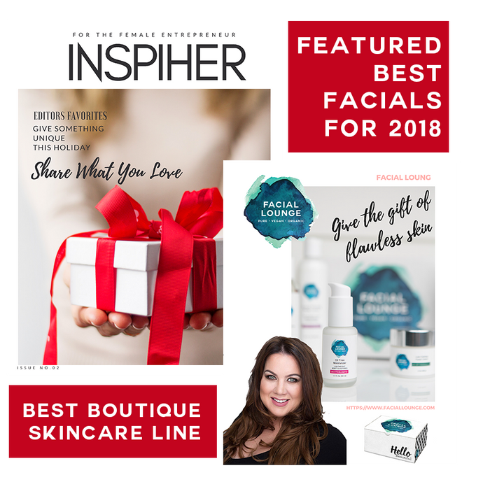 Voted Best of 2018 Skincare in InspiHER Magazine