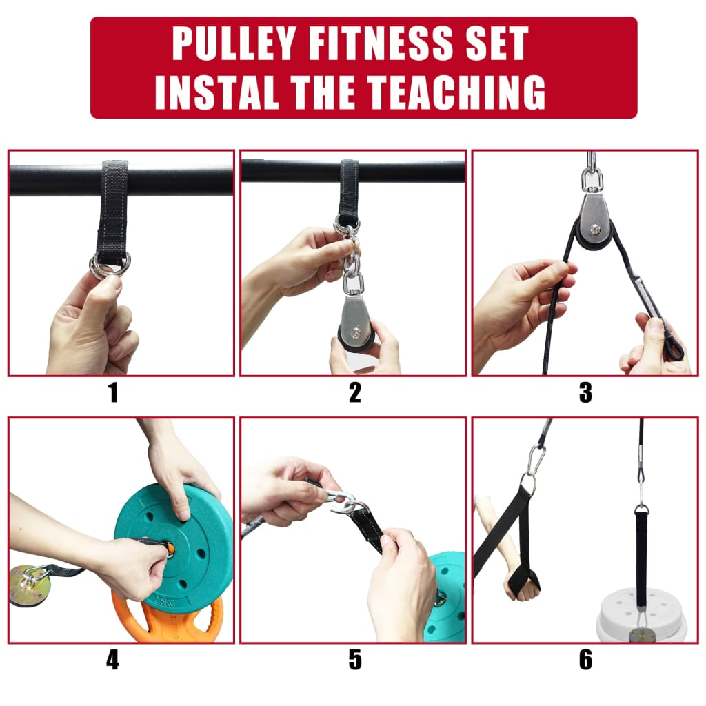 Fitness Arm Wrist Trainer Triceps Blaster Pull Down
