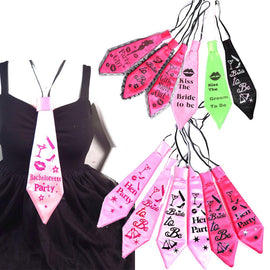 Bachelorette Party Statement Ties