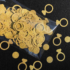 Gold Ring Confetti