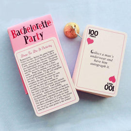 Bachelorette Party Truth Or Dare Cards