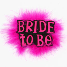 Bachelorette Party Fur Badge