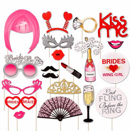 Bride To Be Bridal Shower Photo Booth Props