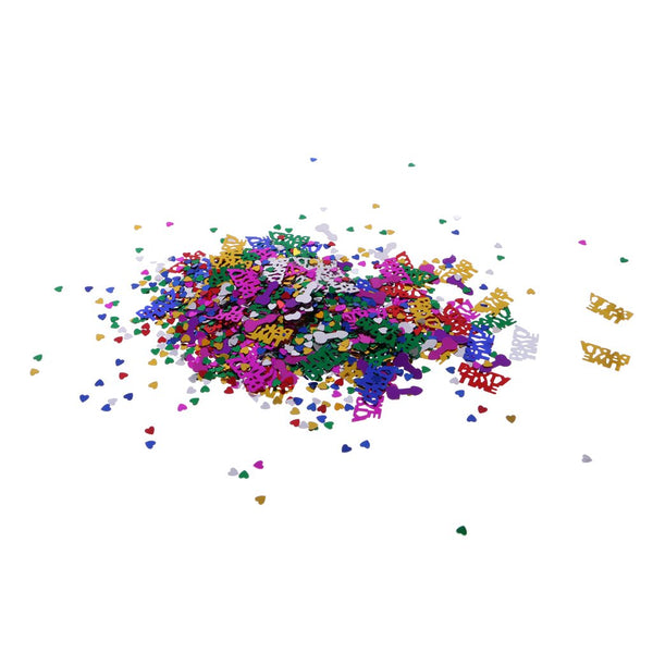 Bachelorette Party Assorted Metallic  Confetti