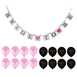 Bachelorette Party Banner and Balloons Set