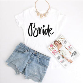 Bride Heart Printed T-Shirt