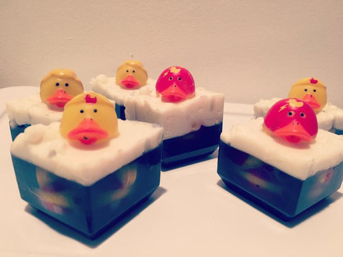 Bubble Bath Duck Soaps