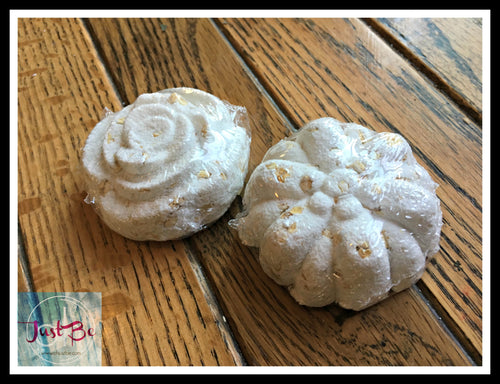Flower Bath Bombs - set of 3