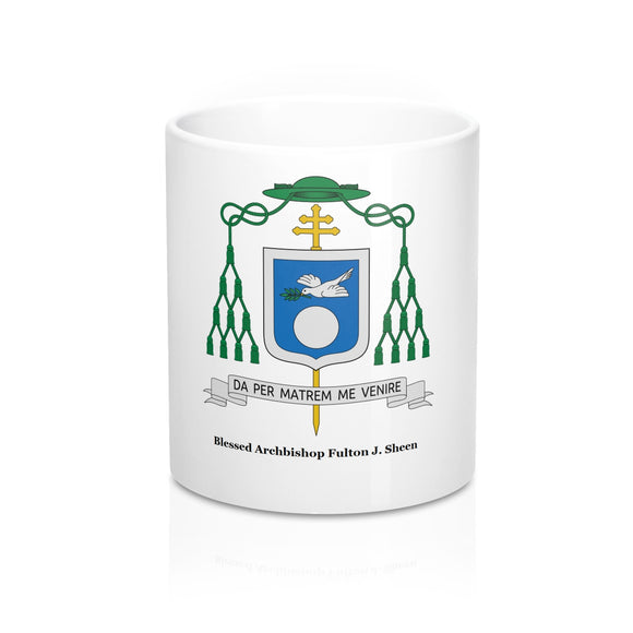 Blessed Archbishop Fulton Sheen Mug 11oz