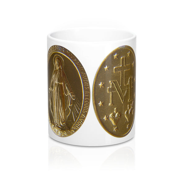 Medal of the Immaculate Conception Coffee Mug