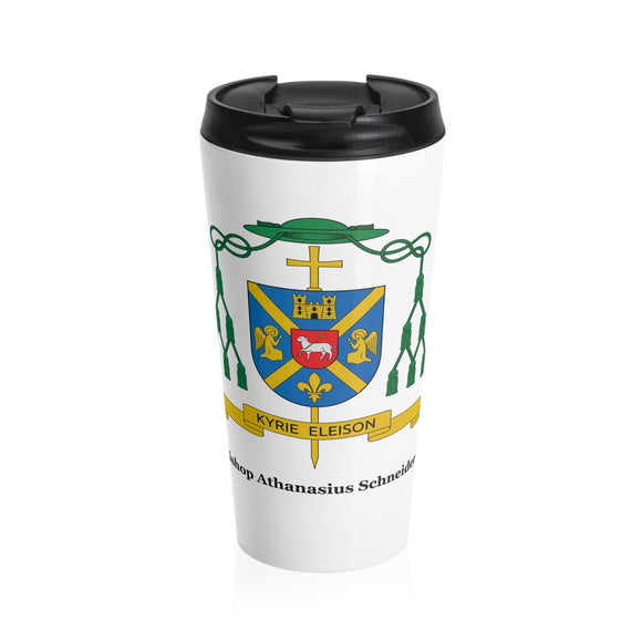 Bishop Athanasius Schneider-Stainless Steel travel coffee mug