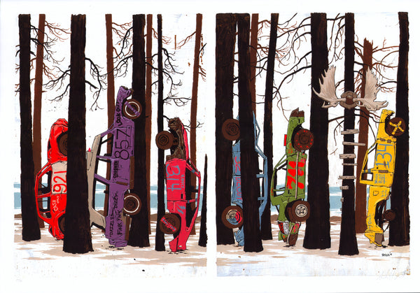 Derby Diptych-Stickfort-Stickfort