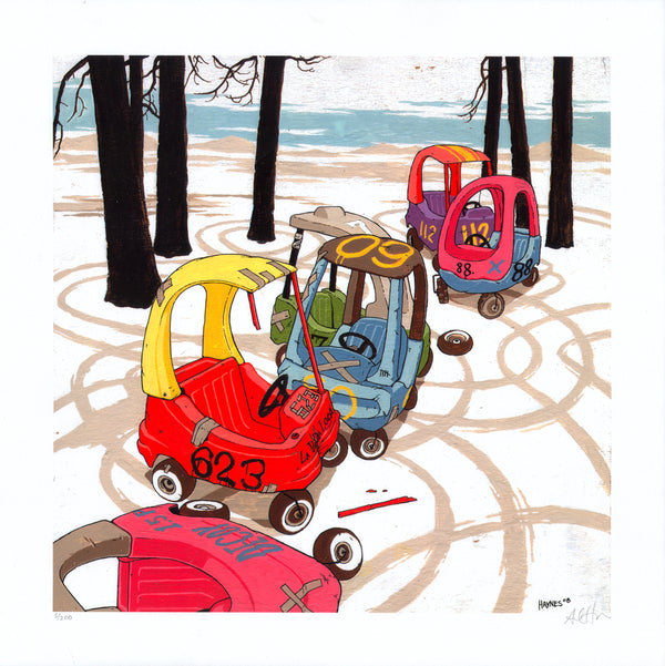Kiddie Cars-Stickfort-Stickfort