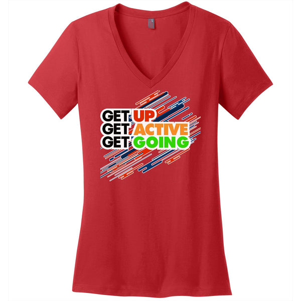 Get Up - Women's V-Neck