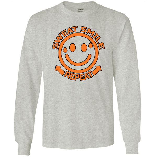 Sweat Smile Repeat - Men's Long Sleeve T-Shirt