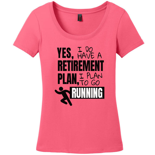 Retirement Plan-Running - Women's Scoop