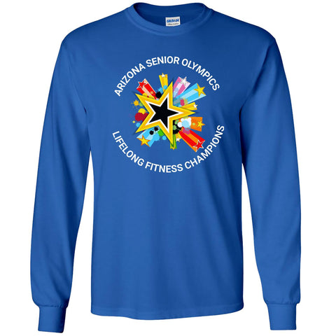 ASO - Lifelong Fitness Champions - Men's Long Sleeve Crew Tee