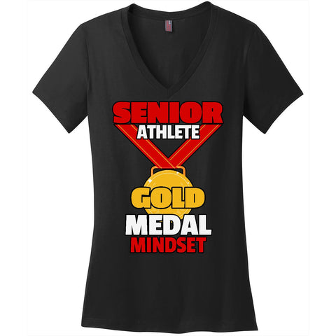 Gold Medal Mindset - Women's V-Neck