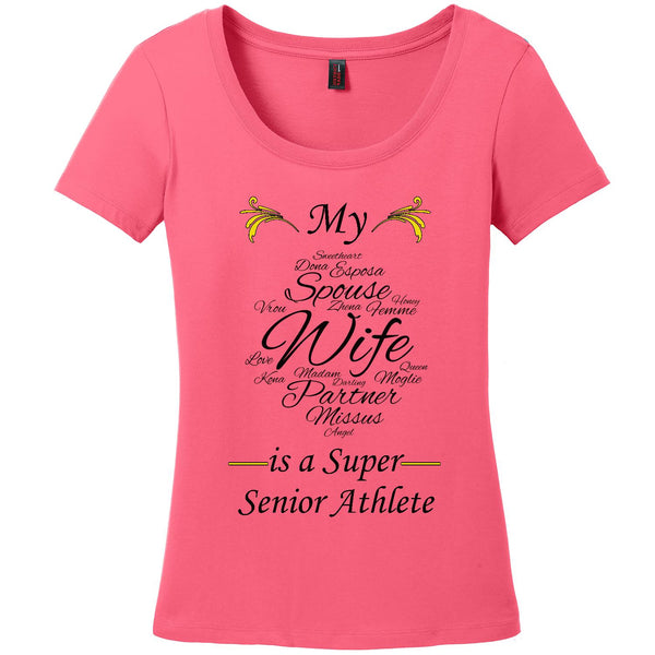 My Wife is a Super Senior Athlete - Women's Scoop