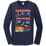 ASO 2019 Games, Long Sleeve Crew Neck TShirt