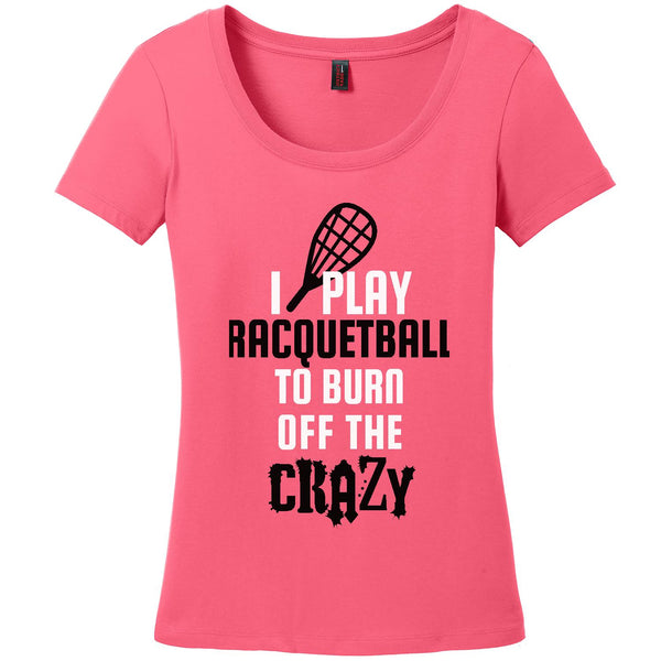 Burn off the Crazy-Raquetball - Women's Scoop