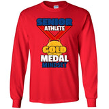 Gold Medal Mindset - Men's Long Sleeve T-Shirt