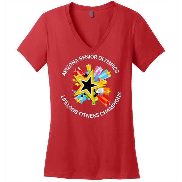 ASO - Lifelong Fitness Champions - Women's V-Neck